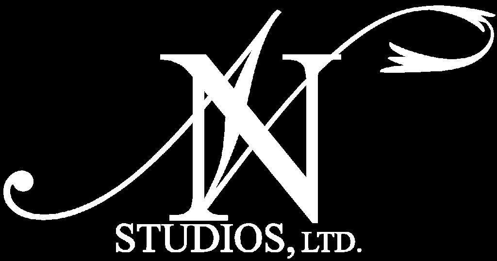 N Studios, Ltd. White Logo