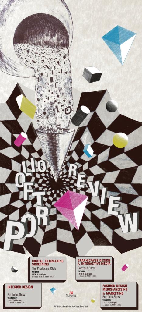 Portfolio Review Portfolio Poster Conceptual Poster