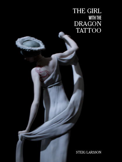 The Girl with the Dragon Tattoo series Book Jacket Designs