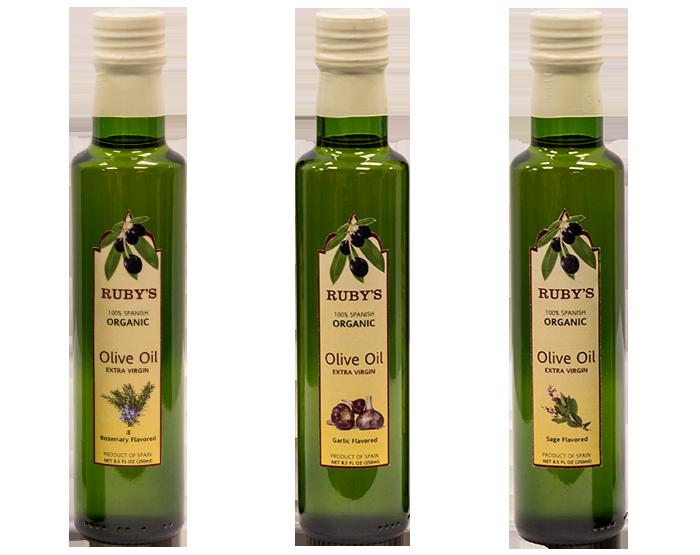 Ruby's Olive Oil Branding