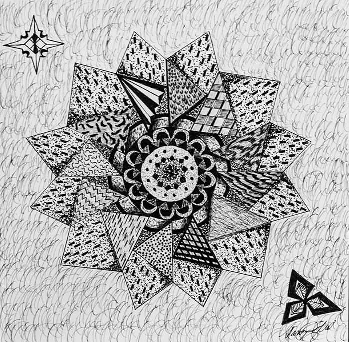Pen Art Artwork Micron Pen