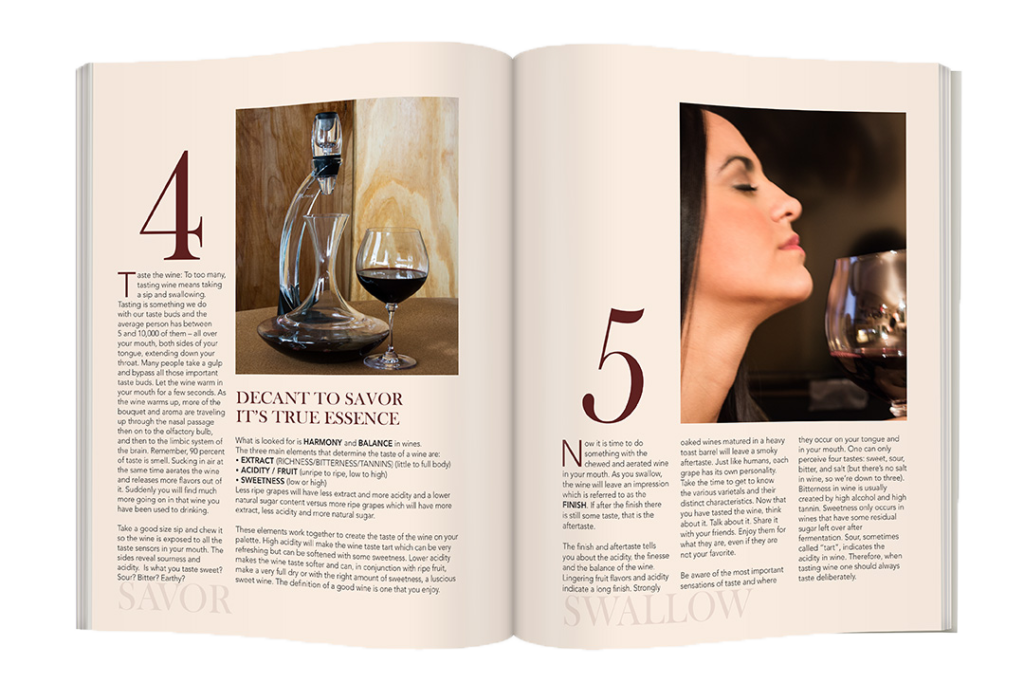 Uncork Magazine Layout Editorial Layout